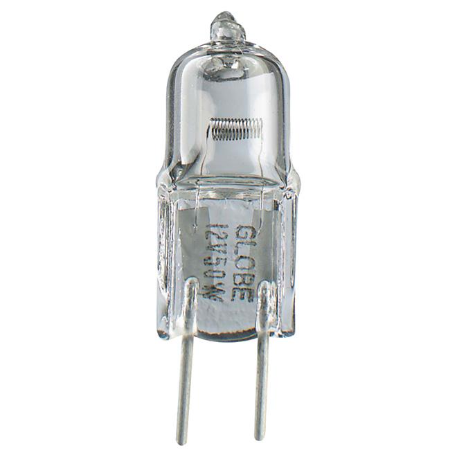 Ampoule halogène10W, type T4, 2/pqt