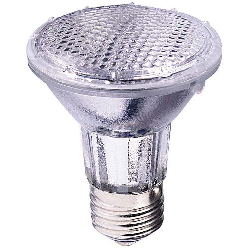 Globe Halogen Light Bulb - PAR20 - E26 - 35 W - Soft White