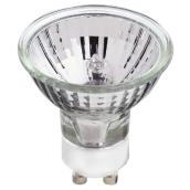Globe Halogen Bulb - MR16 - GU10 - 50 W - Clear - 2-Pack