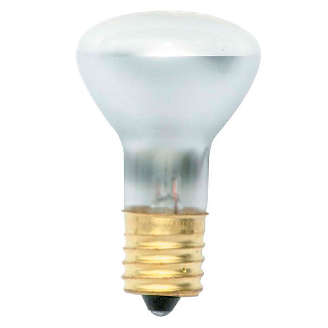 R12 Incandescent Bulb - 30 W - Frosted - 1/Pk