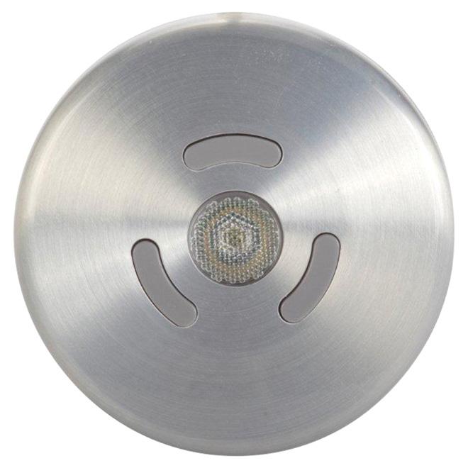Éclairage GLOBE pour dessous d'armoire DEL, argent, intensité réglable