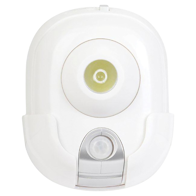 Globe Motion Detector Night Light - LED - White