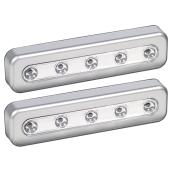 "LED Under-Cabinet Night Light 7"" - 2-Pack"