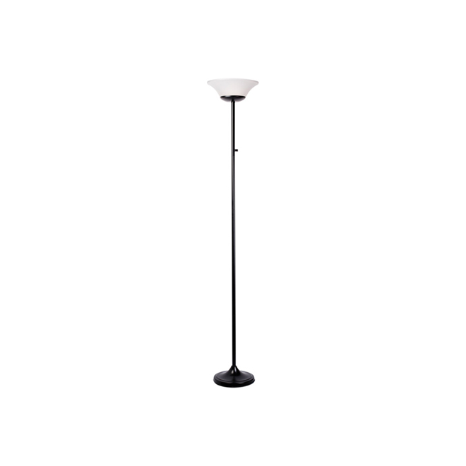 "Contessa Floor Lamp - 70"" - LED 15 W - Matte Black"