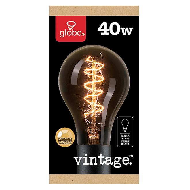 Ampoule rétro A21 40 W, blanc doux