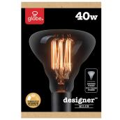 Edison Halogen Bulb G40 - 40 W - Dimmable - Soft White