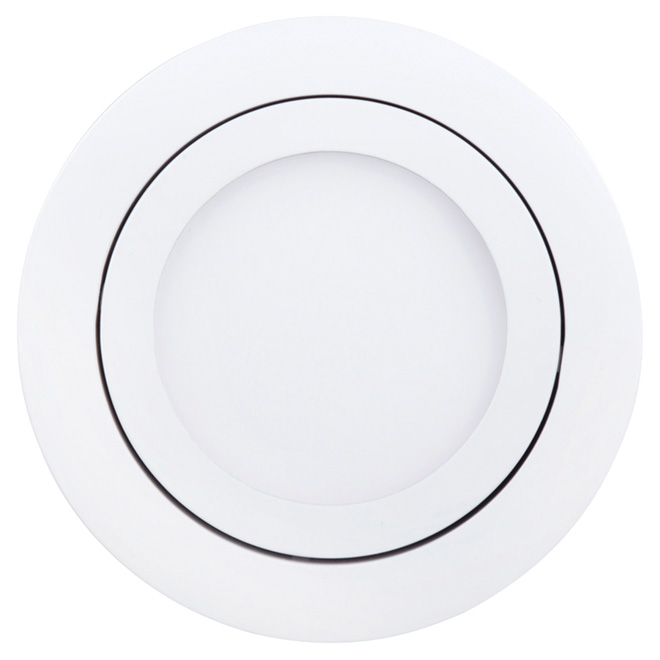 Dimmable Recessed Light - Swivel - 9W LED - White