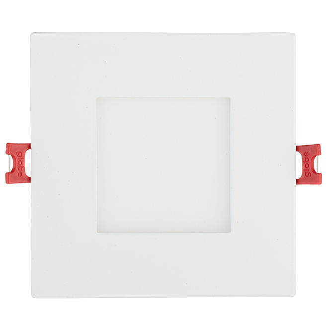 Dimmable Recessed Light - Square - 9W LED - White