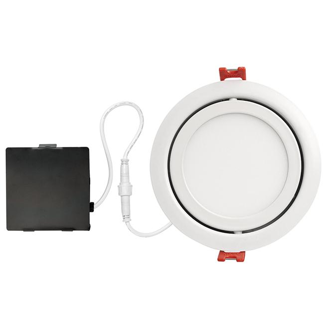 Lumière intégrée DEL, ultra mince, blanc