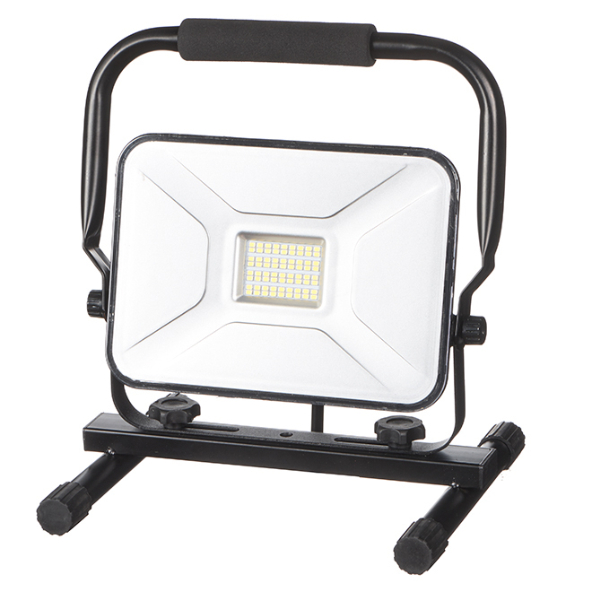 Slim LED Work Lamp - 30W - Black