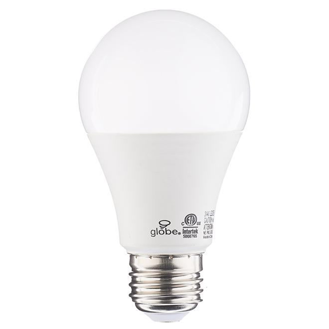 Ampoule DEL A19 10 W, 3 intensités, blanc doux