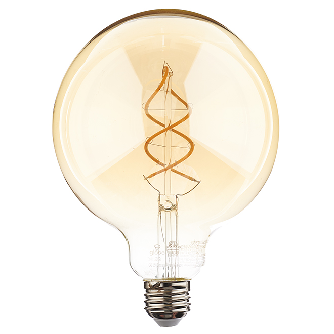 LED Bulb G40 6.5 W - Dimmable - Amber