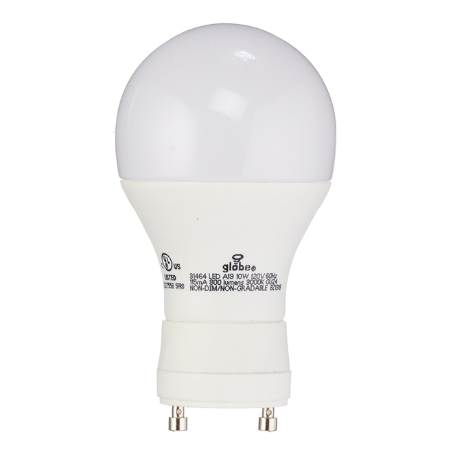 Ampoule DEL A19 10 W, non variable, blanc doux