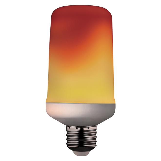Ampoule flamme, culot moyen, 5 W