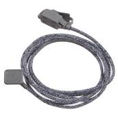 Fabric Extension Cord - 9 ft. - Black