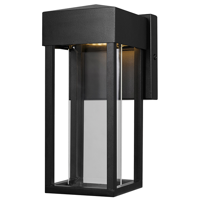 Bowie LED Wall Sconce - Indoor/Outdoor - 10 W - Black