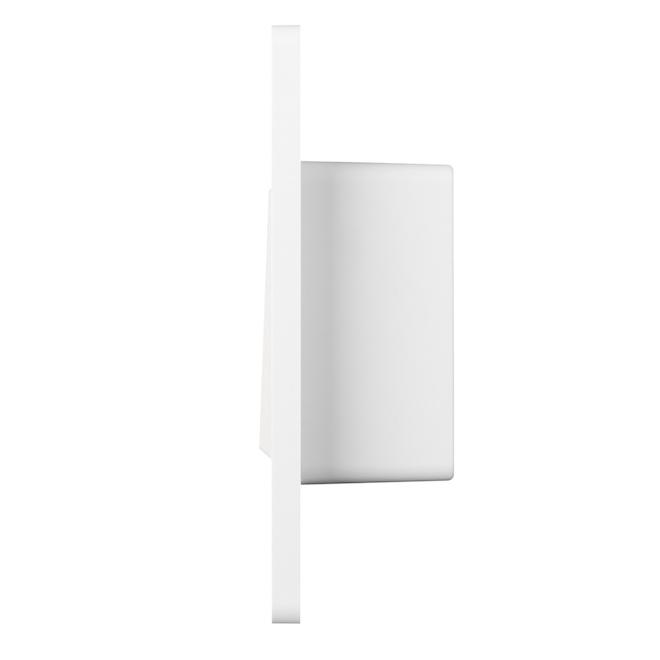 Interrupteur intelligent Globe Electric avec Wi-Fi, 15 A, 125 V, blanc