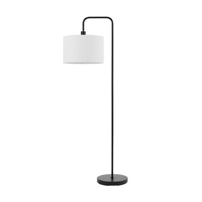 Globe Electric Barden Floor Lamp - 58-in - Metal - Matte Black