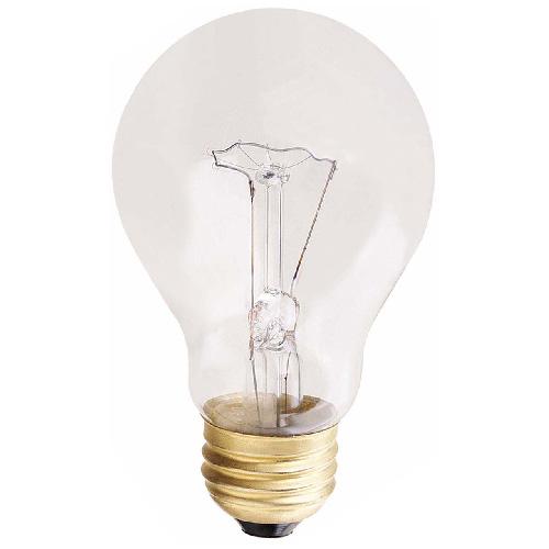 Ampoules incandescentes, A19, E26, 100W, clair, paquet de 6
