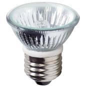 Globe Halogen Light Bulb- MR16 - E26- 50 W - Clear - 2/Pack