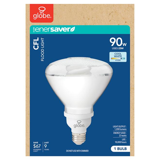 Compact Fluorescent BR38 Bulb - 23 W - Cool White - 1/Pk