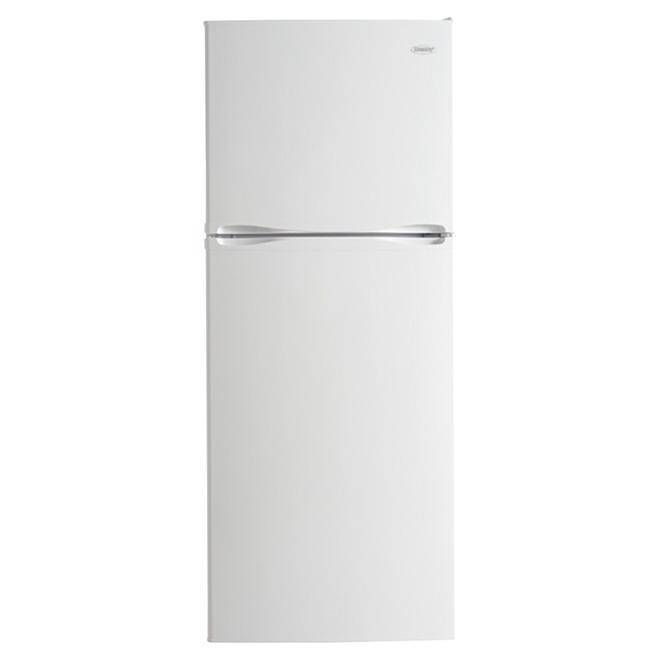 Réfrigérateur à congélateur supérieur 12,3 pi³, blanc