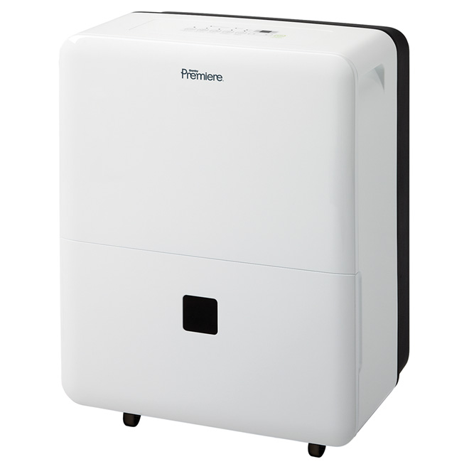 Electronic Dehumidifier 21 L - 2500 sq. ft. - White
