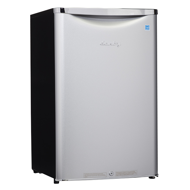 Danby Compact Refrigerator - 4.4 cu.ft - Stainless Steel