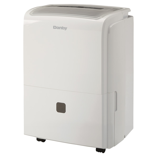 Electronic Dehumidifier - 60 PT - 4000 sq. ft. - White