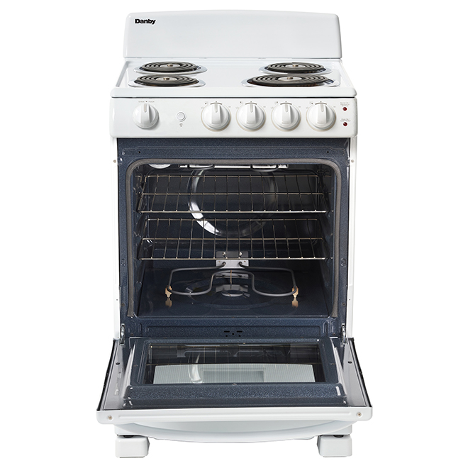 "Freestanding Electric Range - 24"" - 2.9 cu. ft. - White"
