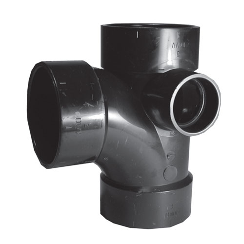 ABS Tee-Wye With inlet