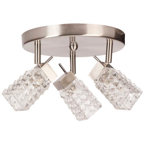"""Lux"" 3-light ceiling fixture"