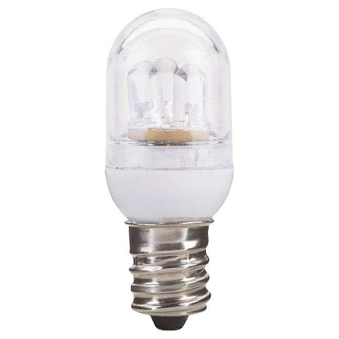Ampoule pour veilleuse DEL 1W, C7, paquet de 2