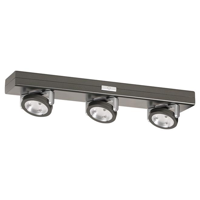 Éclairage à DEL sous comptoir à 3 lumières