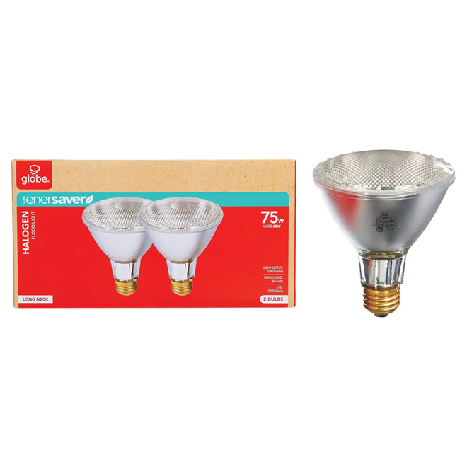 Halogen Bulb PAR30 60 W - Clear - Pack of 2