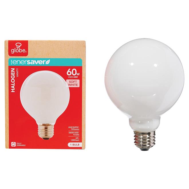 43 W G30 White Halogen Bulb