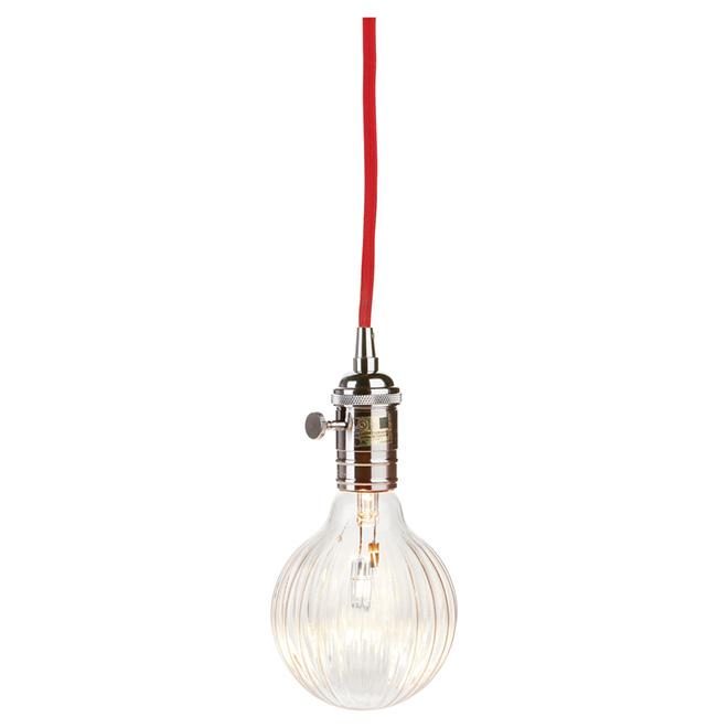 1-Light Plug-In Pendant Light - 15'