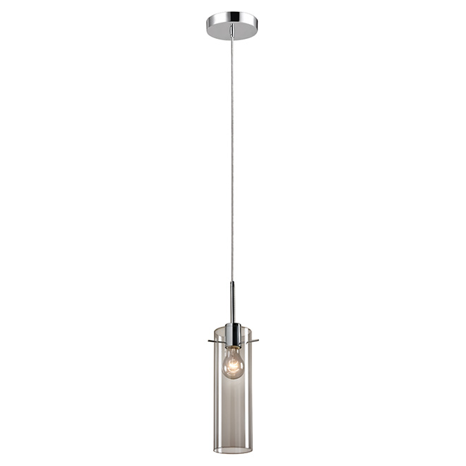Globe 1-Light Plug-In Pendant - Glass Shade - 60 W