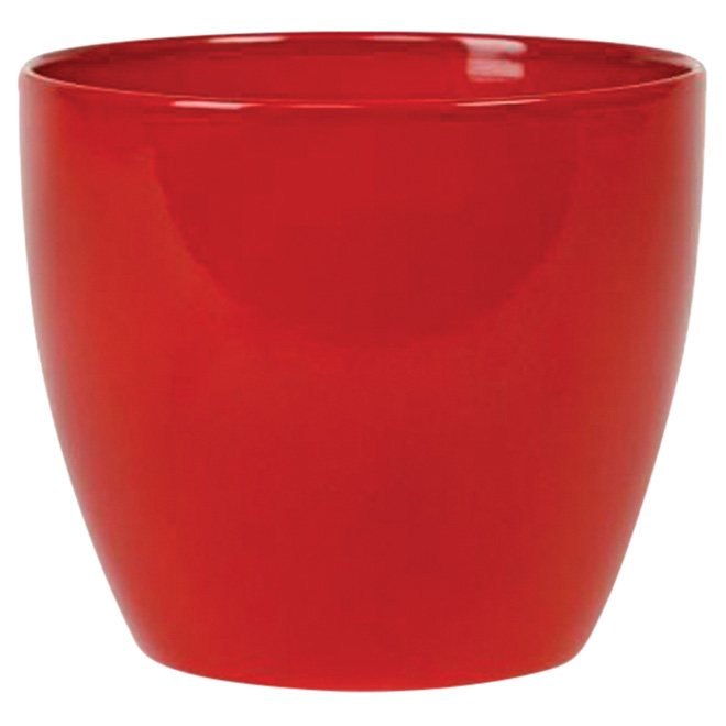 Ceramic Pot 16cm - Alive Red