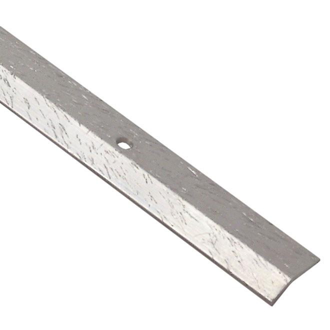 Bordure de plancher en aluminium - 1 po x 6 pi