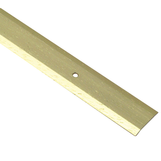 Threshold Stair Edge - Hammered Gold - 6'