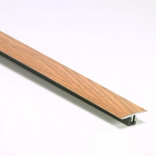 Bordure de joint en T pour plancher stratifié couleur chêne