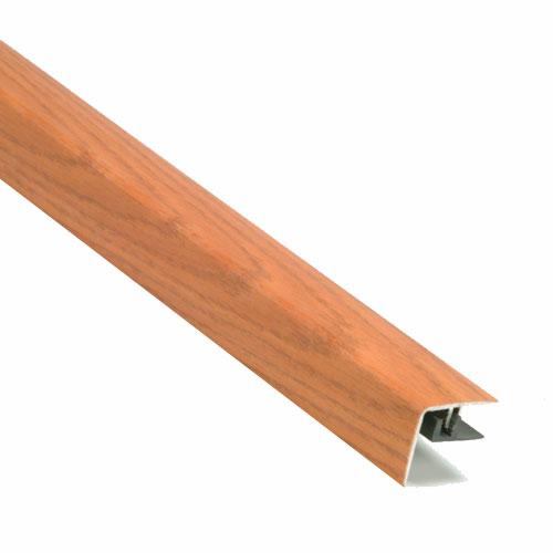 Nez de marche pour plancher stratifié couleur chêne rouge