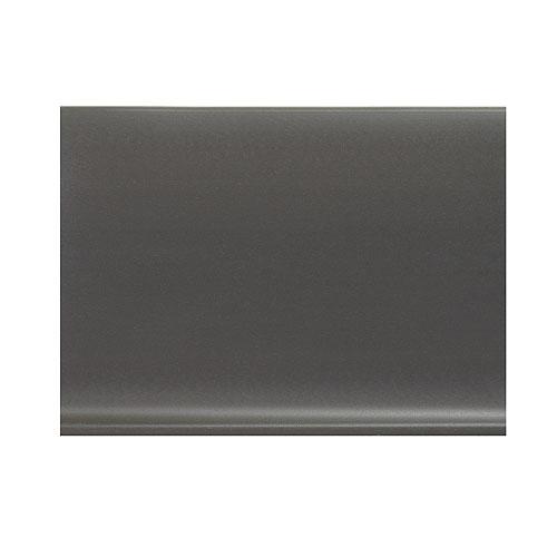 Plinthe à gorge en vinyle autocollante 4 po, gris