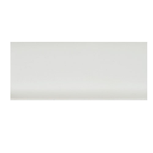 "Peel and Stick White Vinyl Covebase 21/2"" x 100'"