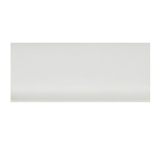 "Plinthe en vinyle blanc auto-adhésive 21/2"" x 100'"