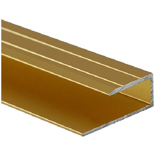 Satin Gold Aluminum Laminate End Stop