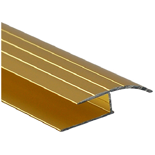 Satin Gold Aluminum Laminate Reducer