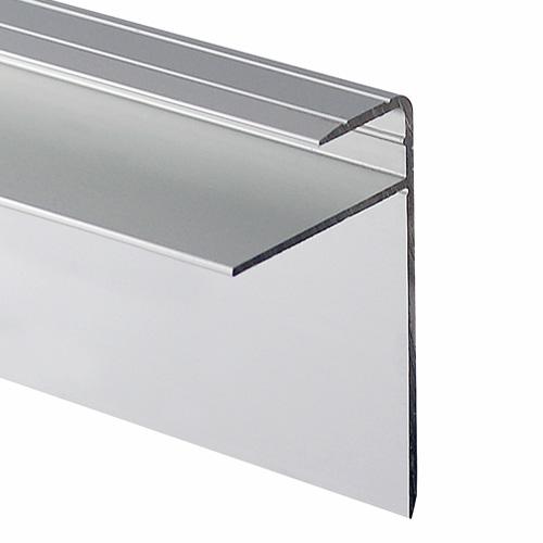 Satin Silver Laminate Nose Stair Edge