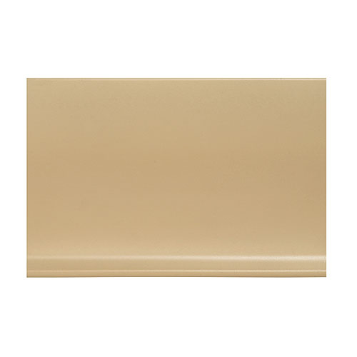 Plinthe à gorge en vinyle 4 po, beige